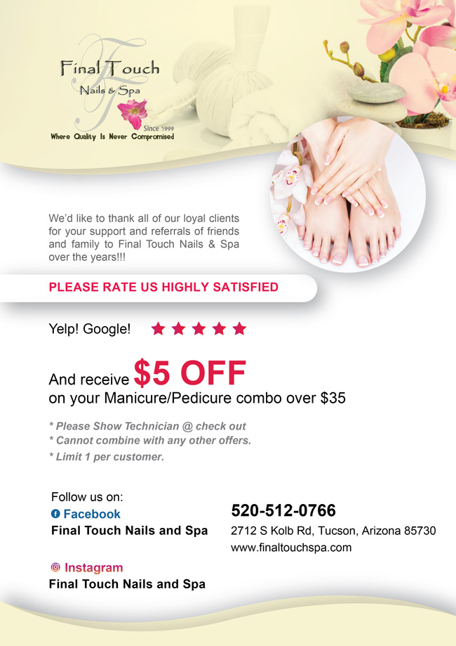 Nail Salon 85730 | Final Touch Nails & Spa of Tucson, Arizona 85730 ...
